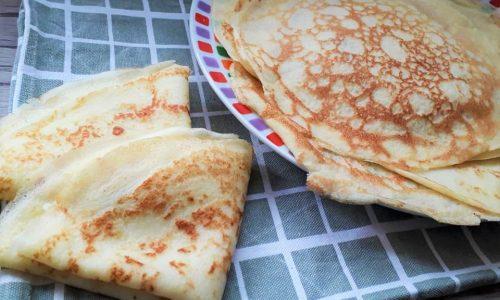 Crespelle Senza Glutine (Crepes)