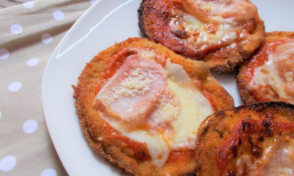 Pizzette di Melanzane a Cotoletta