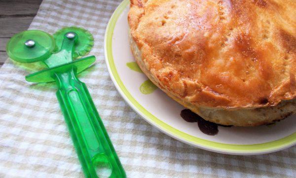 Torta Salata di Ricotta e Radicchio