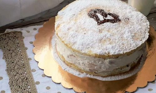 Torta Ricotta e Pere Senza Glutine