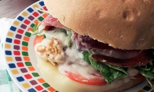 Panino Hamburger Ripieno