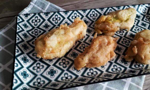 Fiori di Zucchine Ripieni in Pastella (Senza Glutine)