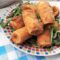 Paccheri Fritti con Ricotta e Salame