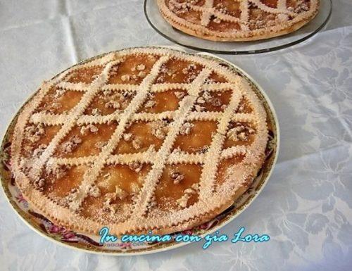 Crostata Pere e Noci la mia ricetta