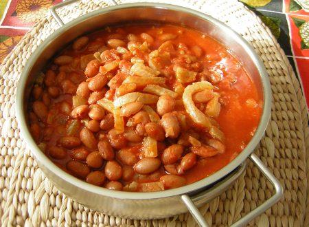 Fagioli e cotiche piatto tradizionale