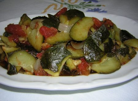 Bandiera di zucchine