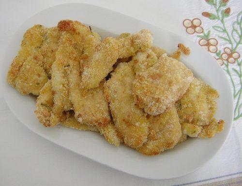 Petto di pollo impanato al forno