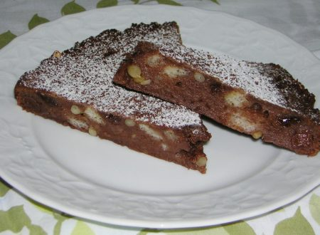 Torta di pane al cioccolato