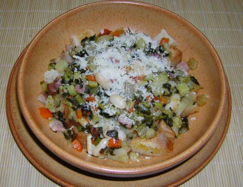 Ribollita ricetta tipica toscana