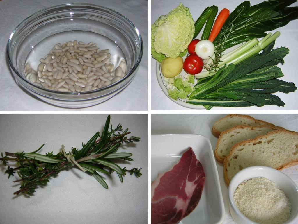 ingredienti per la ribollita
