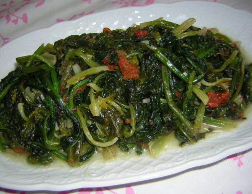 Spinaci al pomodoro