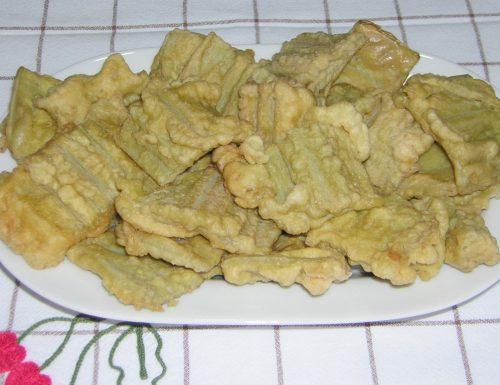 Cardo o gobbo fritto con pastella