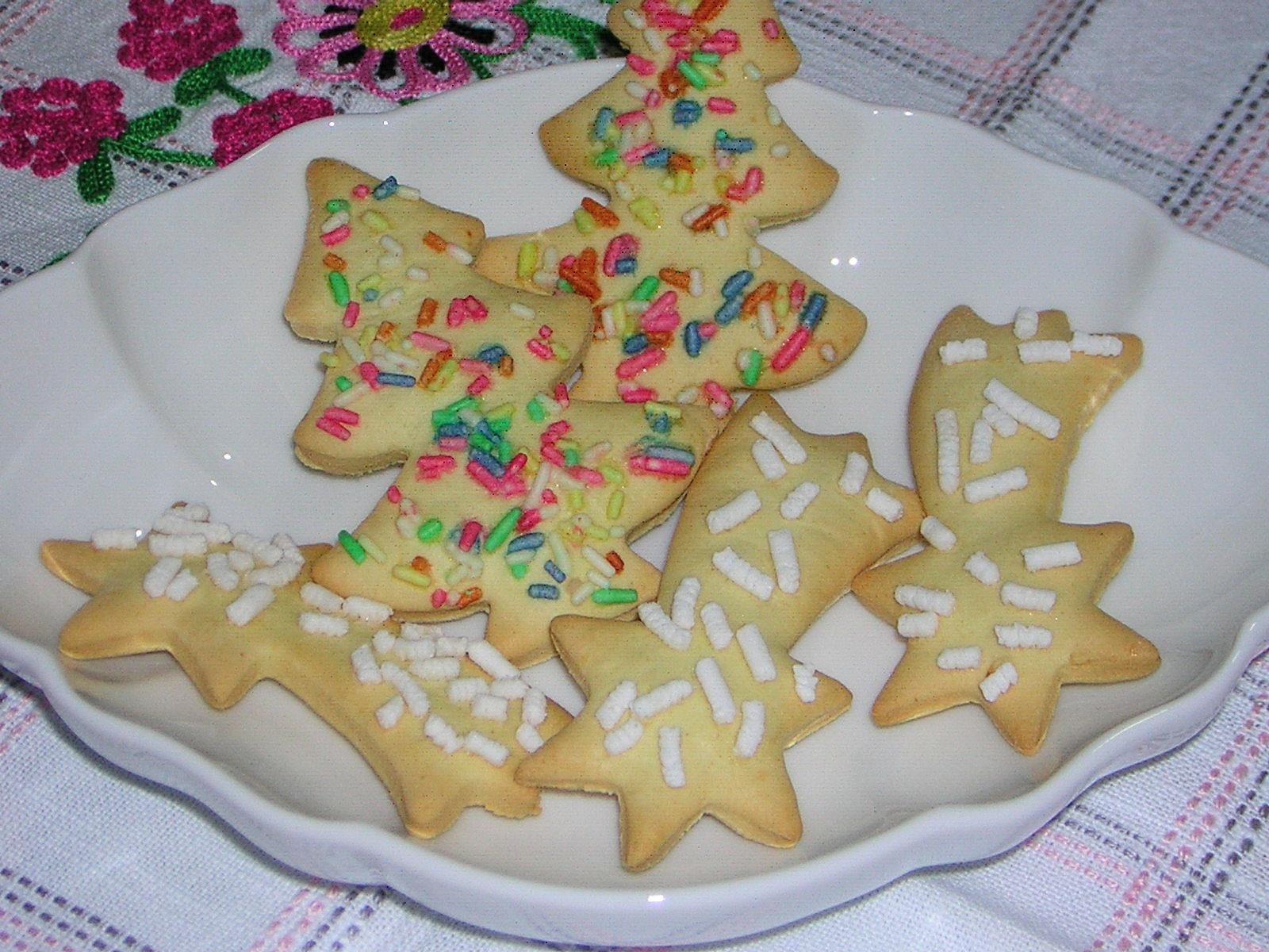 biscottini di natale facili