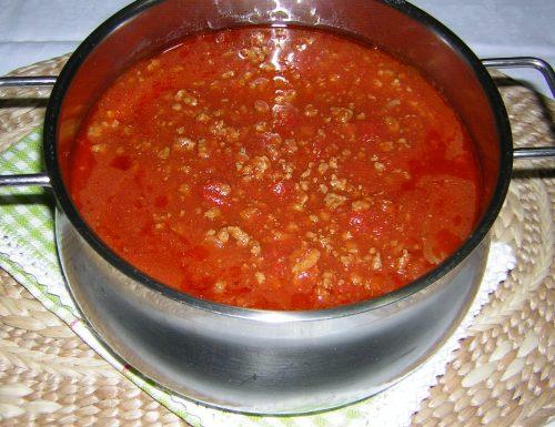 Ragù per lasagne