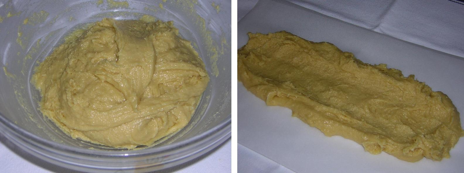 preparazione 1 del ciambellone con nutella