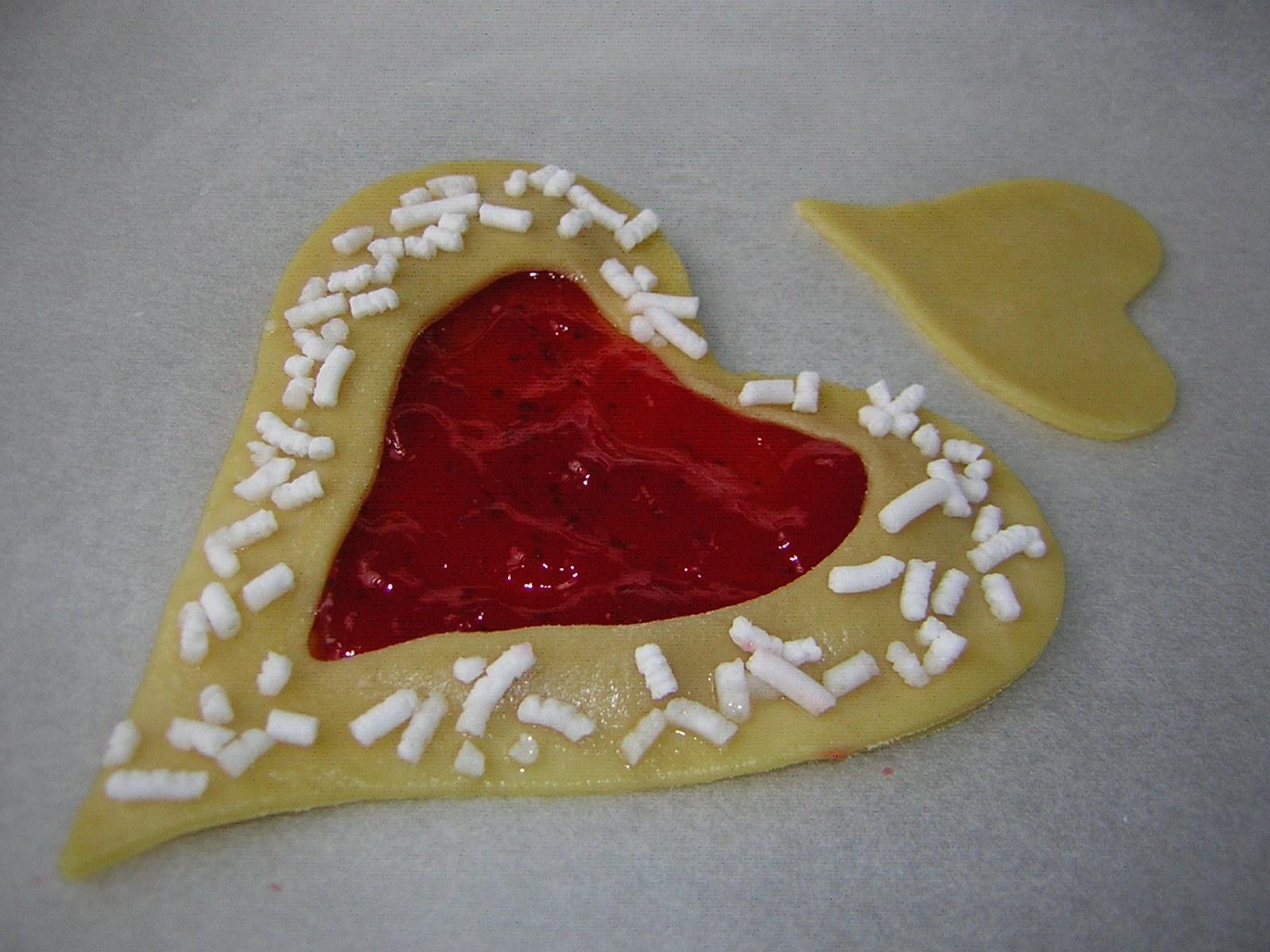 preparazione dei cuori di San Valentino