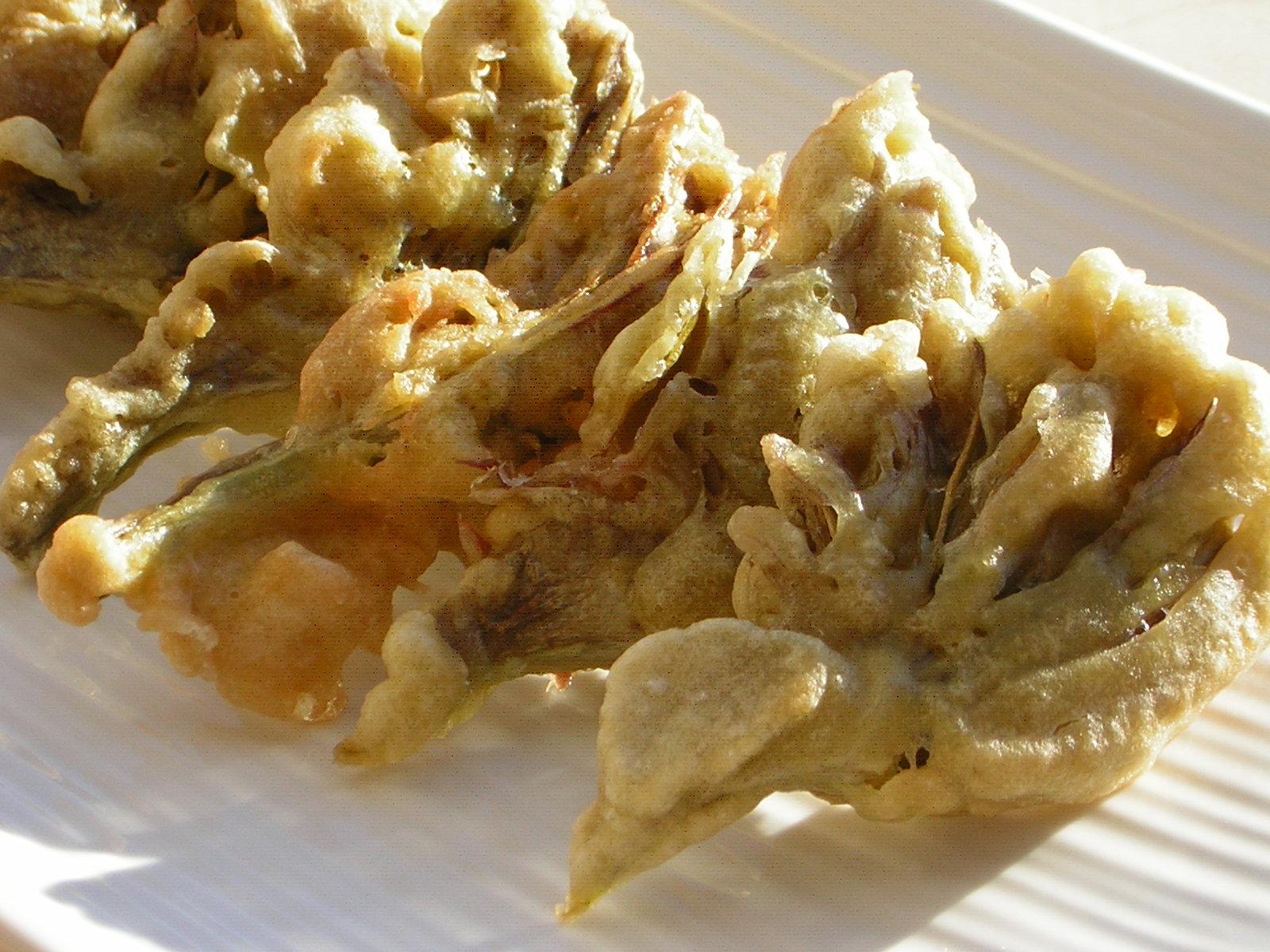 carciofi fritti con pastella