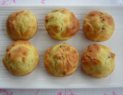Muffin dolci con ricotta