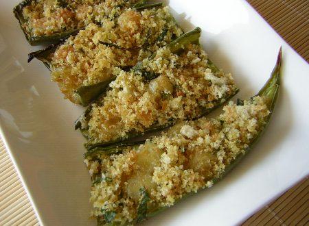 Peperoni corno verdi al forno