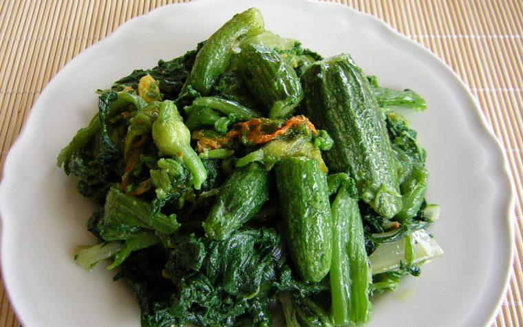 Cime di zucchine