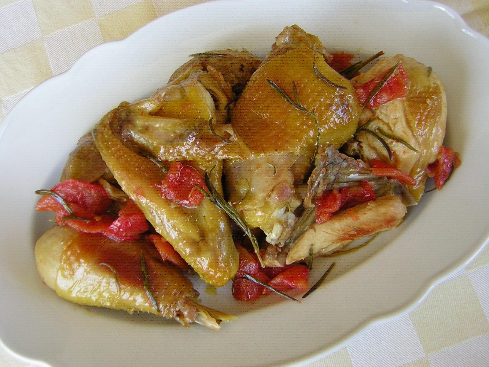 Pollo in potacchio alla marchigiana | In cucina con zia Lora