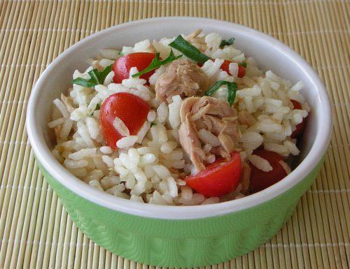 Insalata di riso semplice