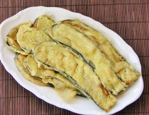 Melanzane fritte con pastella