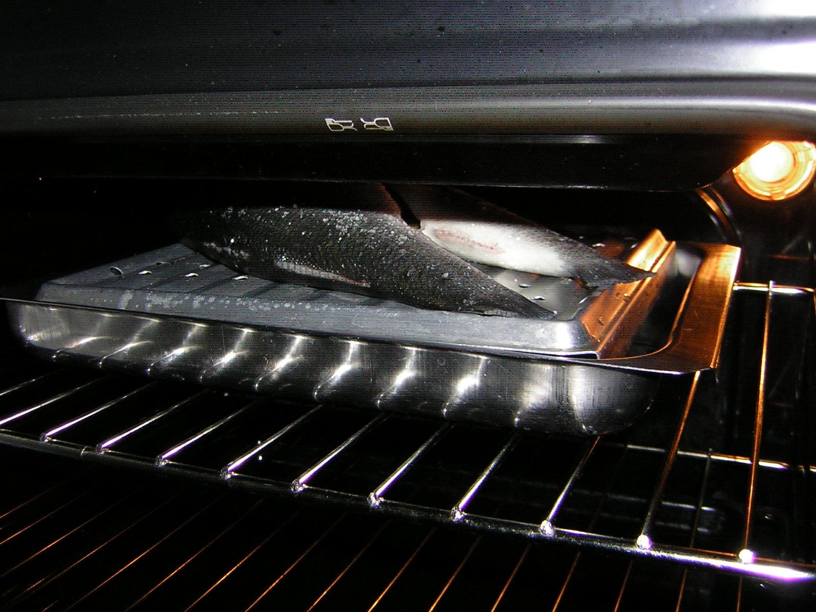 cottura del branzino al grill