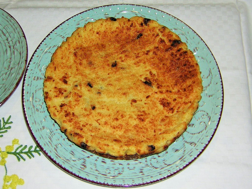 torta di pane bianca light