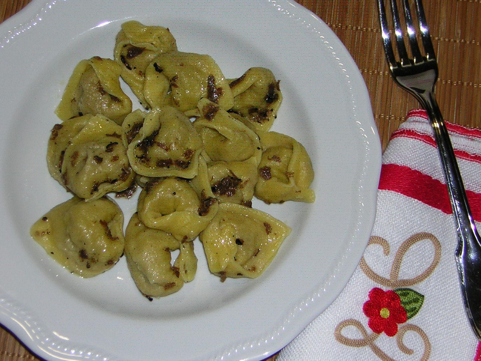 Ricette tortelli al tartufo