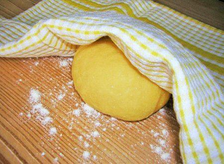 Come fare la sfoglia a mano ricetta