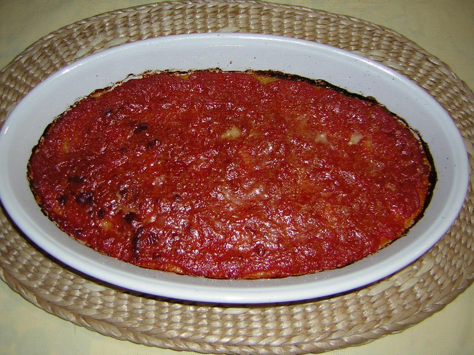 polenta al forno leggera
