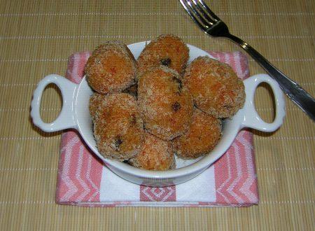 Suppli di riso al forno variante mia