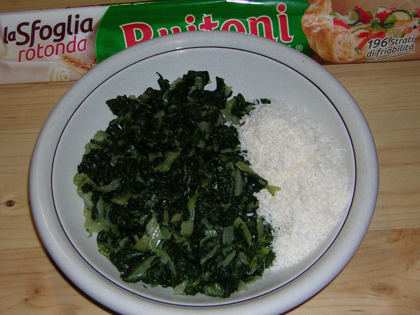 ingredienti degli alberelli di pasta sfoglia ricetta vegetariana