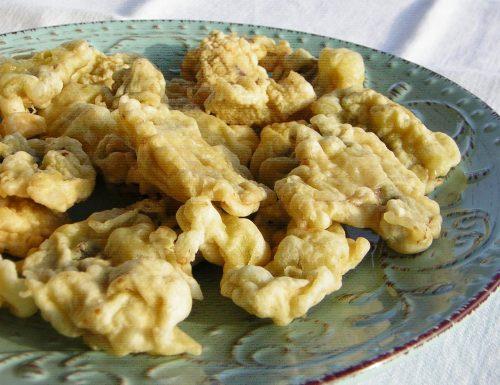 Funghi fritti con pastella