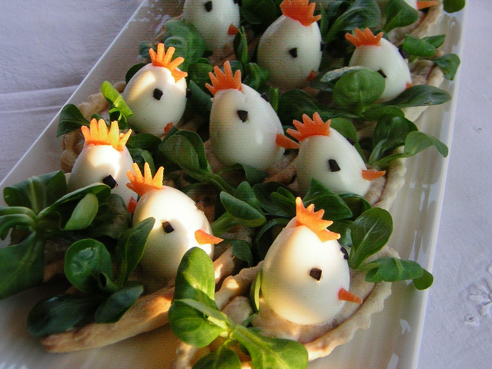 Antipasto di pasqua con uova di quaglia in cucina con zia lora - Uova di pasqua decorate per bambini ...
