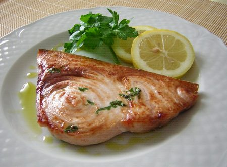 Pesce spada al grill