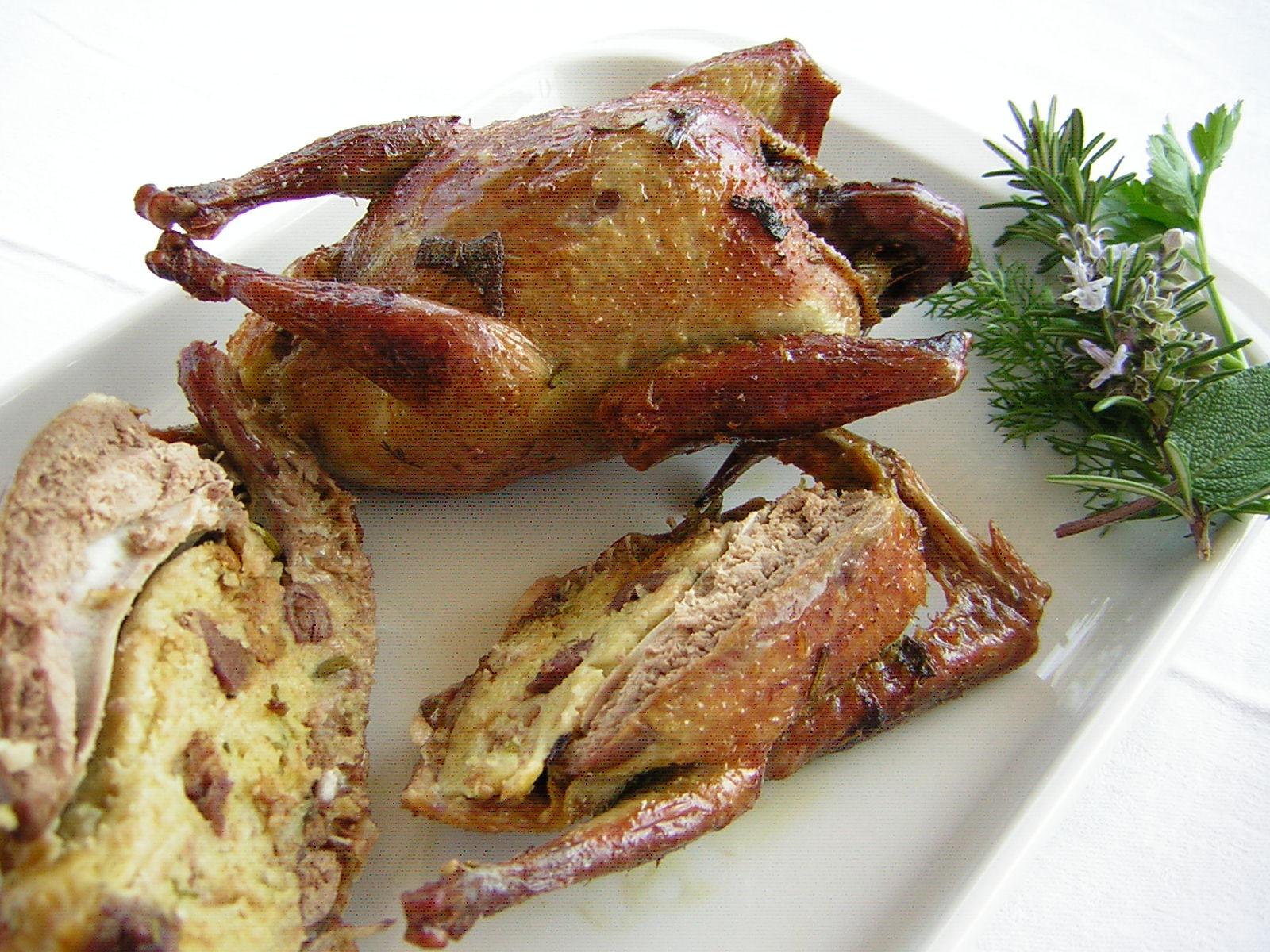Piccioni ripieni ricetta umbra in cucina con zia lora for In cucina ricette