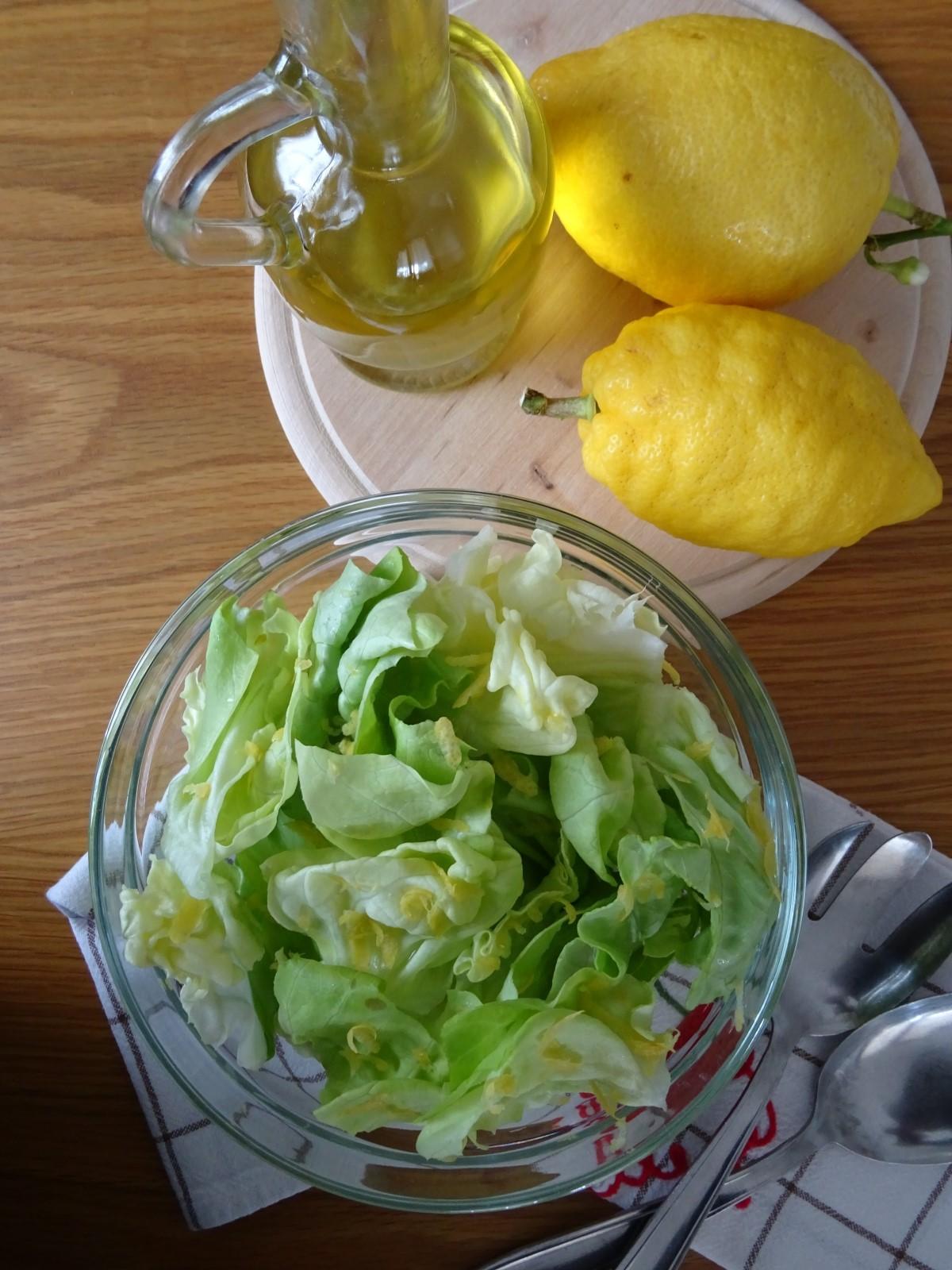 lattuga al limone