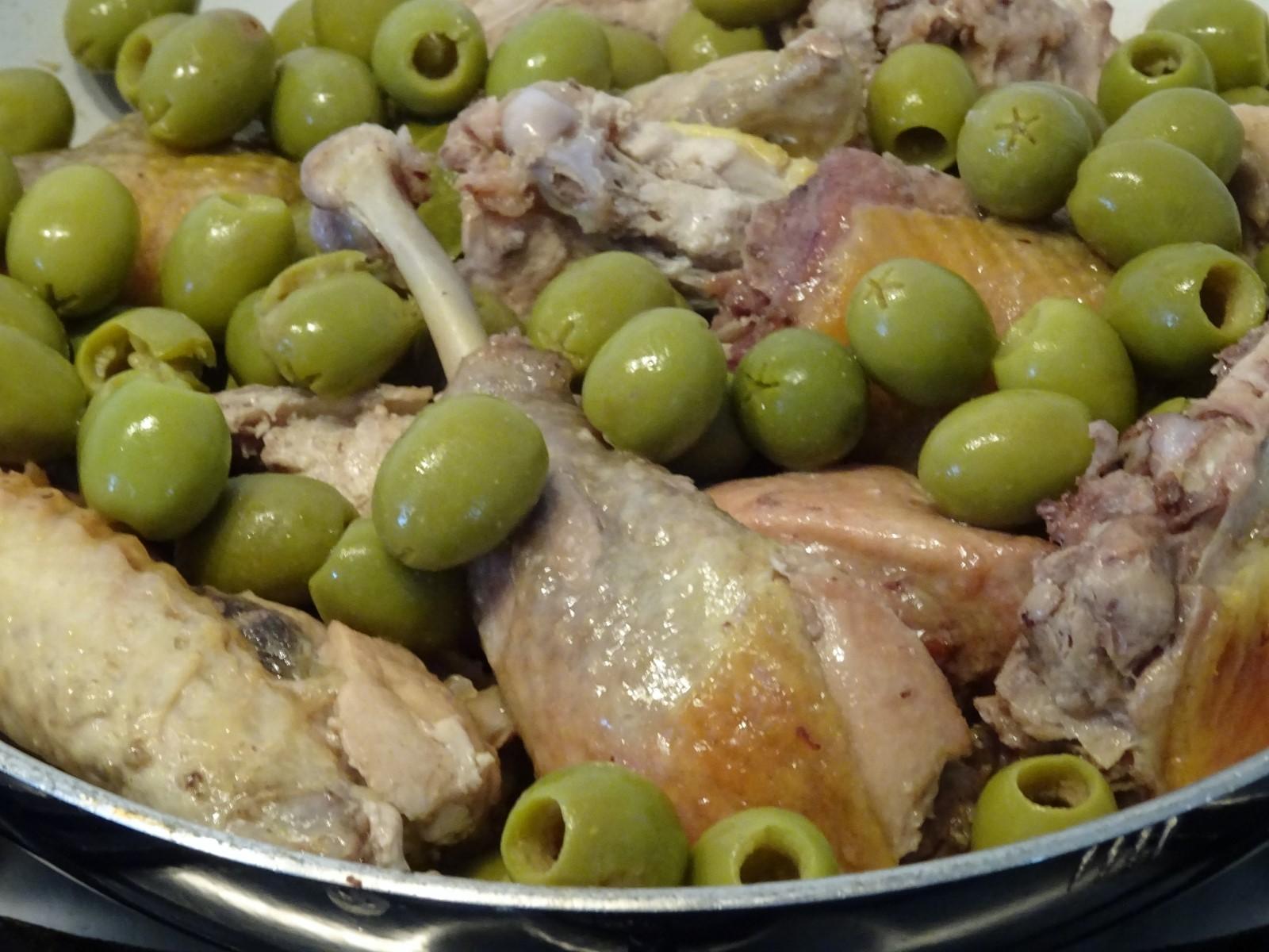 cottura della faraona con olive