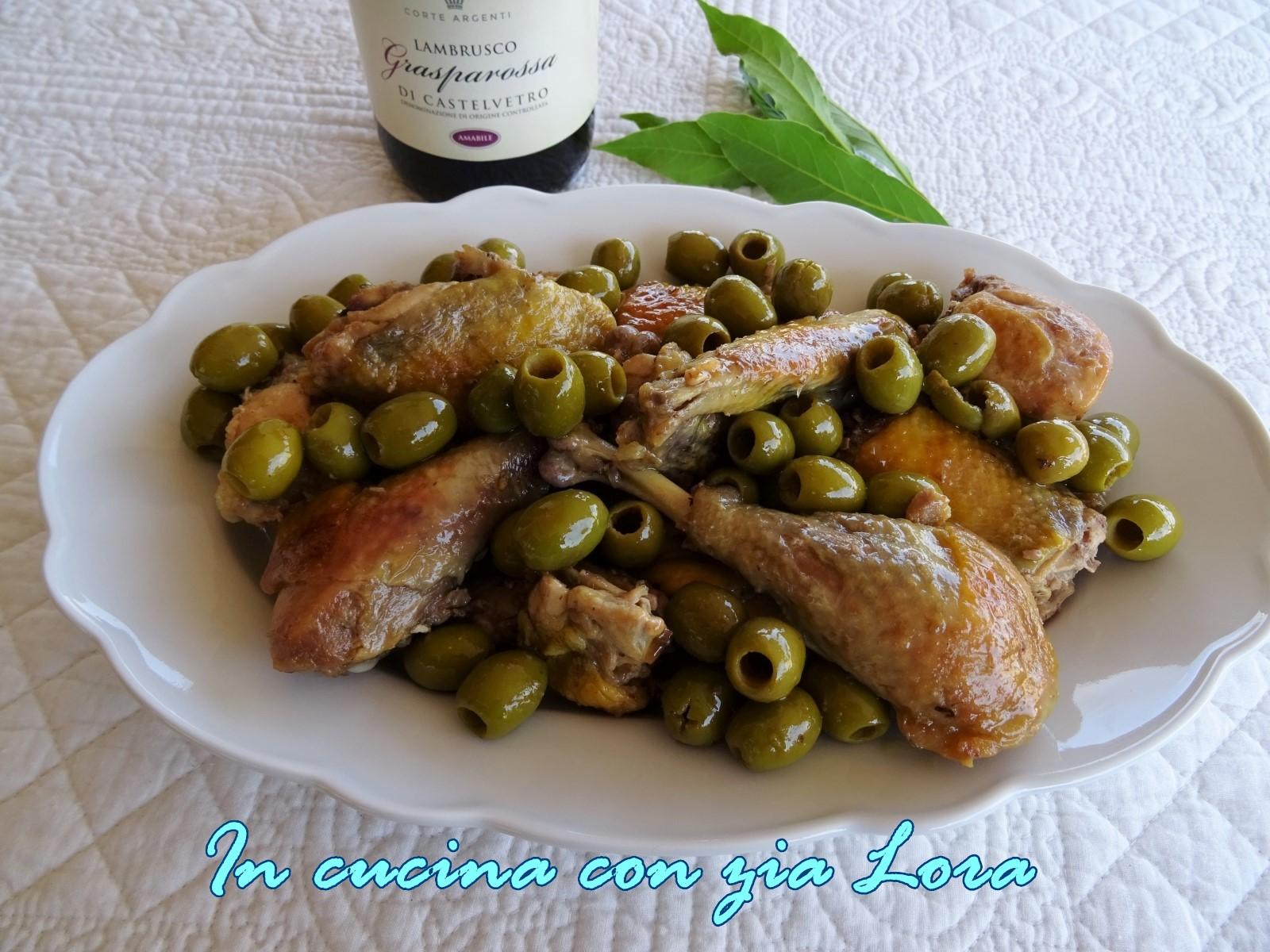 faraona con olive