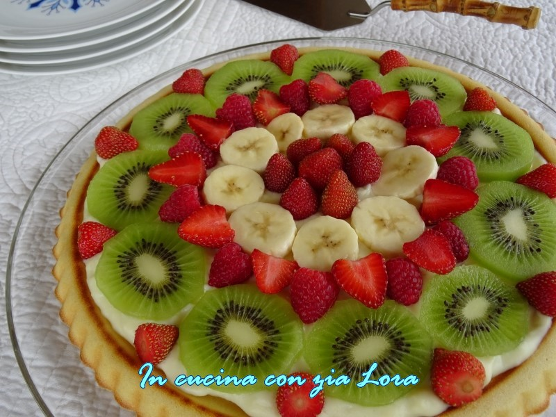 crostata di frutta un dolce facile