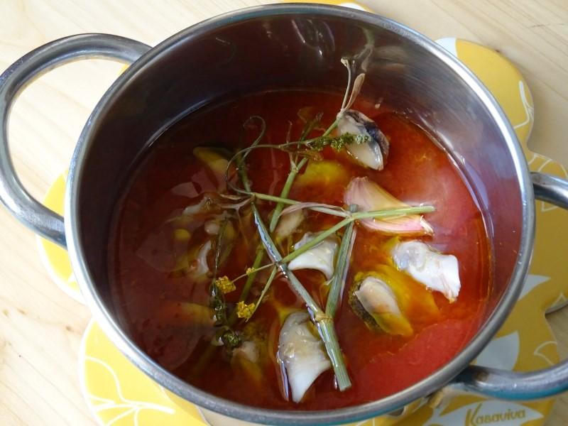 cottura dei lumaconi di mare per antipasto