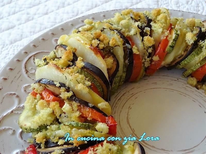 corona di verdure gratinate