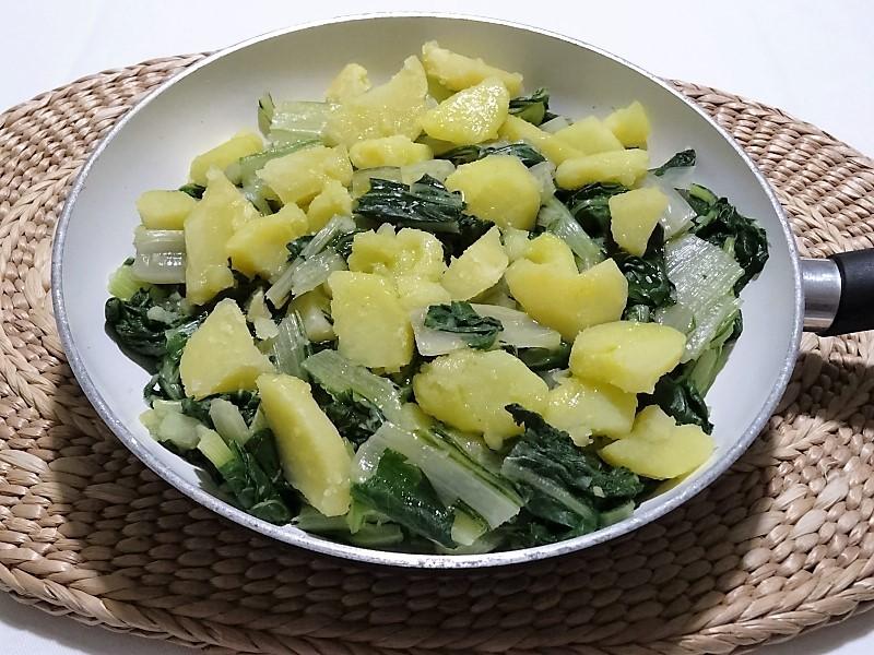 patate e bietola un contorno sano