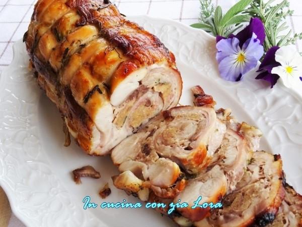 coniglio disossato al forno saporito