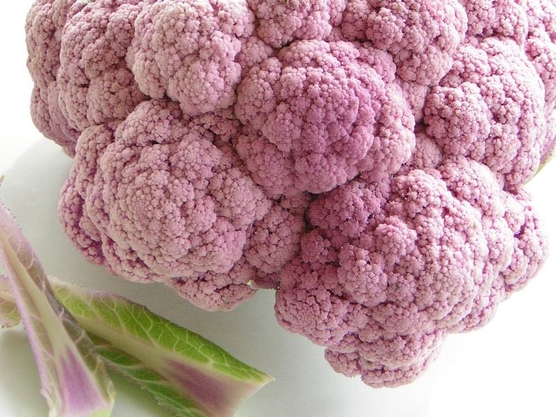 ingrediente principale dello sformato di cavolfiore viola e patate