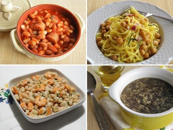 Come cucinare legumi secchi in cucina con zia lora - Come cucinare salsiccia ...