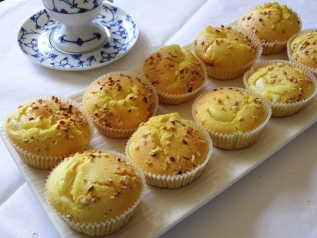 dolci semplici raccolta ricette - muffin con ricotta e limone