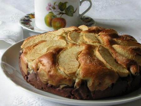dolci semplici raccolta ricette - torta di mele al cioccolato